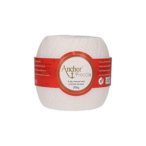 Anchor 4769016-07901 - Filato per uncinetto, 100% cotone, 7901, spessore 16