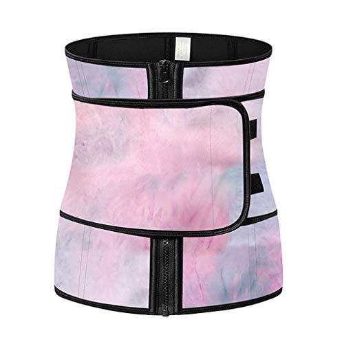 Cinturón de recortador de cintura, dispositivo de entrenamiento de cintura, ejercicio de cintura para todo uso para ajustar el cinturón conformidad, abdomen ajustable, para gimnasio ejercicio fitness