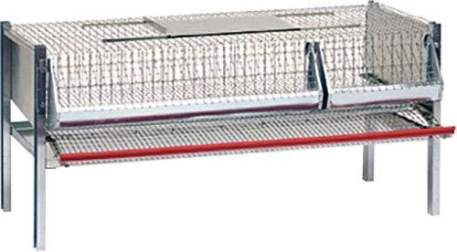 Matavipro 20/30-Gabbia quaglie ovaiole 99 X 62 X 50 Cm