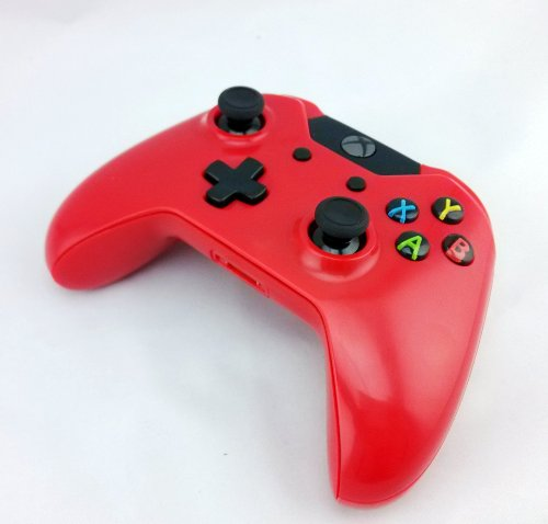 Color Series Xbox One Controller RED - XB1 - First Party Modded Controller in Colored Shell by Quickdrawmods