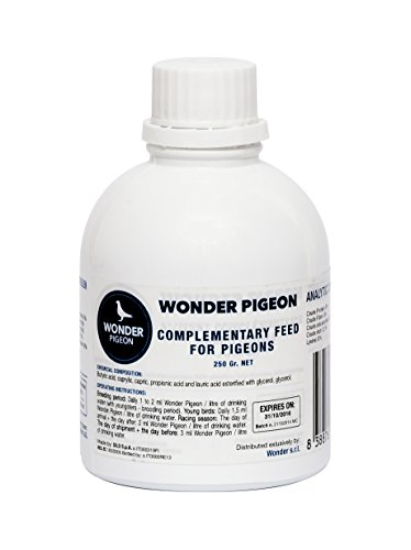 Wonder Pigeon 16-59328 Botella - 500 g