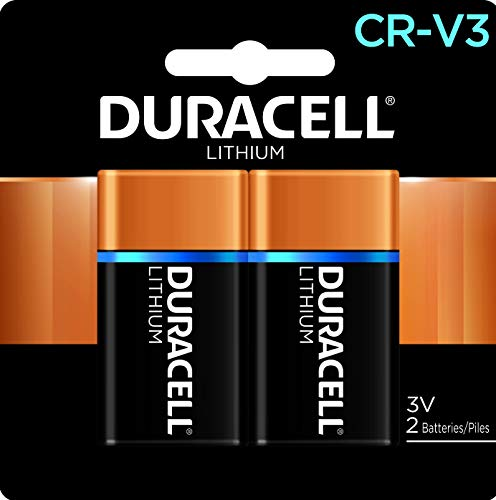 Duracell - CRV3 3V Ultra Lithium Photo Size Battery - Long Lasting Battery - 2 Count