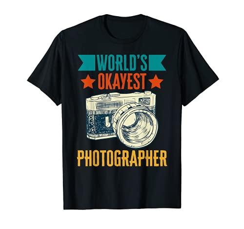 Cámara fotográfica de fotografía más adecuada del mundo Camiseta
