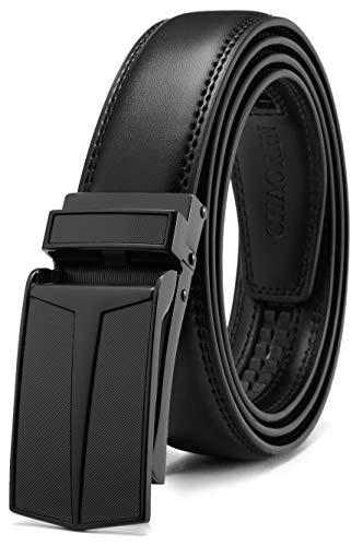 CHAOREN Leather Ratchet Slide Belt Only $10.34 (Retail $14.99)