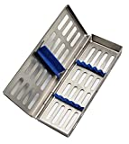 ARTMAN Instrument Cassette Rack (for 5, 7, 10 Pieces) Box for Dental Instruments Organizer and...