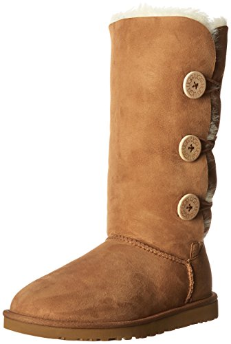 UGG Australia Bailey Button Triplet 1873, Stivali Donna Talla Marrone Size: EU 38 (UK 7)