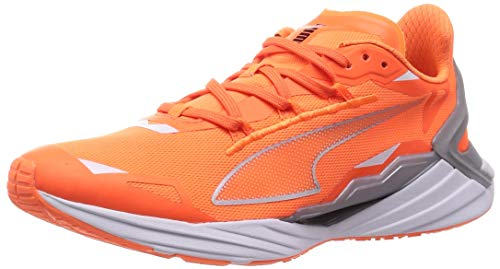 PUMA ULTRARIDE Runner ID, Zapatillas para Correr de Carretera Hombre, Naranja (Ultra Orange/Metallic Silver), 44.5 EU