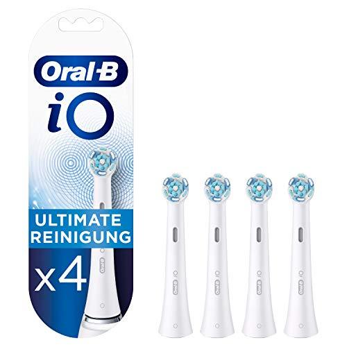 Oral-B iO Ultimative Reinigung Aufsteckbürsten für ein sensationelles Mundgefühl, 4 Stück