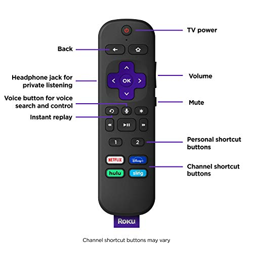 Roku Ultra 2020 | Streaming Media Player HD/4K/HDR/Dolby Vision with Dolby Atmos, Bluetooth, and Roku Voice Remote with Headphone Jack and Personal Shortcuts, Includes Premium HDMI Cable