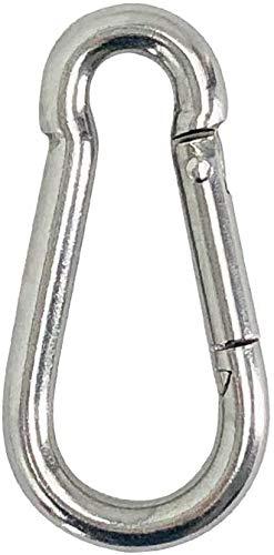 Cojín del ojo (M6) - de alta resistencia de acero inoxidable 304 de la almohadilla de ojos de sol al aire libre Velas de Sombra (con tornillos 4pcs), Nombre de color: Gancho x 1 (Tamaño personalizable