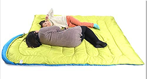 Xinsushp Home Sac de Couchage de Camping à Capuchon de Camping pour Adultes en Plein air Voyage Type Sac de Couchage de Camping à l'épreuve des éclaboussures