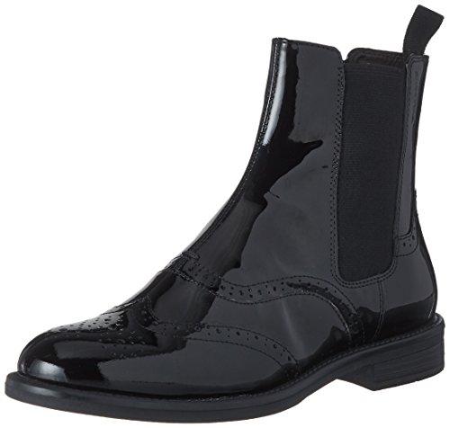 Vagabond Damen Amina Chelsea Boots, Schwarz (Black), 41 EU