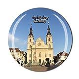 Ludwigsburg Deutschland Kühlschrankmagnet Souvenir Geschenk Kristall Magnetsticker Kollektion