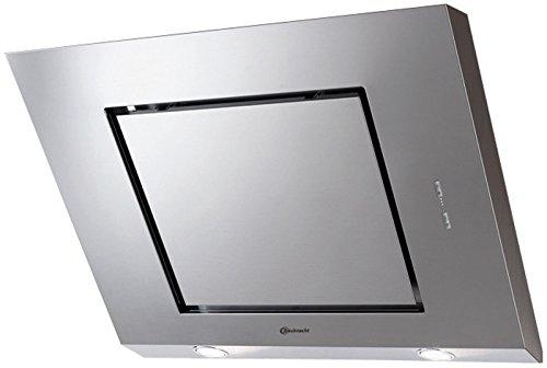 Bauknecht DBHVE 85 AB X Wandhaube für Abluft- und Umluftbetrieb/D/Edelstahl/Leichtdrucktasten