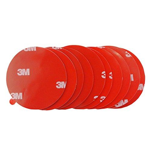 DonDo 3M 4229P doppelseitiges Klebeband Montage Klebestreifen Klebepads Durchmesser 50mm 10 Stück