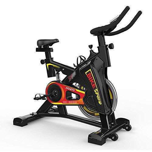 ZCYXQR Bicicletas estáticas Bicicletas estáticas Verticales Ciclos de Estudio para Interiores Accionamiento por Correa para Gimnasio en casa (Deporte Interior)