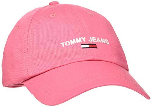 Tommy Jeans Tjw Cap Chapeau, Pink, OS Femme