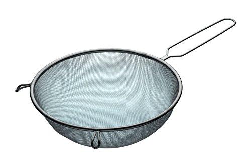 KitchenCraft Extra Großes Sieb, Edelstahl, 25 cm