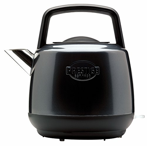Prestige - Heritage - Black Electric Kettle - Cordless - Fast Boil - Stainless Steel - Retro - 3000 W - 1.5L