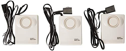Instapark Water Leakage Detection Alarm and Sensor, Low Battery Alert Pack of 3