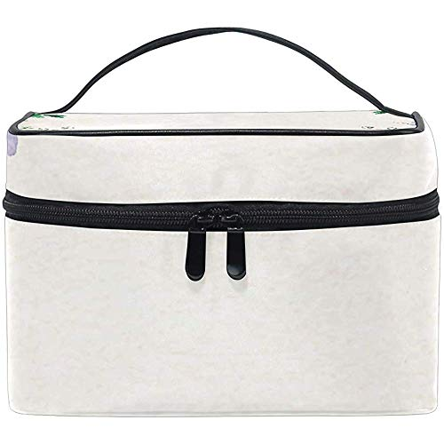 Trousse de Maquillage Rose in Circle Makeup Bag, capacité et Sacs de Maquillage réglables Trousse de Toilette étanche