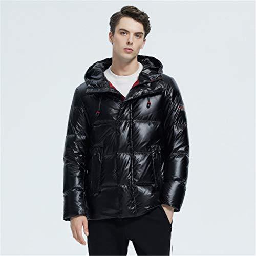 TBAO Herbst Und Winter Neue Herren Kapuze Lässige Daunenjacke Dicke Und Warme Herren Winterkleidung (Color : M902, Size : 48)