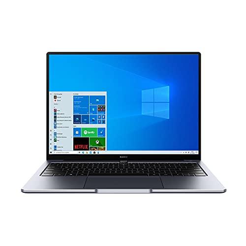 HUAWEI MateBook 14 2021 Laptop, 14 Zoll 2K-FullView-Notebook, 11th Gen Intel i7, 16 GB RAM, 512 GB SSD, Intel Iris Xe, leichtes Metallgehäuse, Fingerabdrucksensor, Win 10 Home - Space Gray