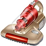 WZLJW Aspirador de Mano del hogar UV ácaros Potente Deshumidificadores aspiradora pequeña Cama Esterilización Deshumidificadores Limpieza Profunda ggsm