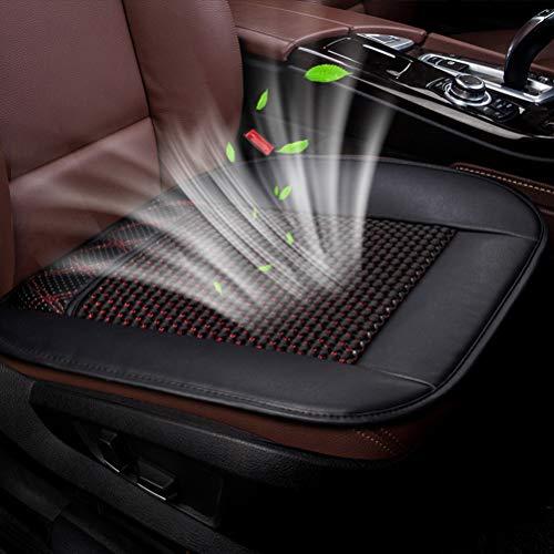 OD-B Auto Sitzauflage Sitzbezüge, Sommerkühlung Belüftete Sitzkissen bezüge, UniversalSitzpolster Anti-Skid für Autositz-Bürostuhl nach Hause, die meisten PKW, LKW, Geländewagen oder Van,Black,USB