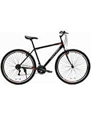 sports mountain bike from SAFEWAY, size 19.5 inch, with an iron frame and transmission copy of SHIMANO and a front assistant.
