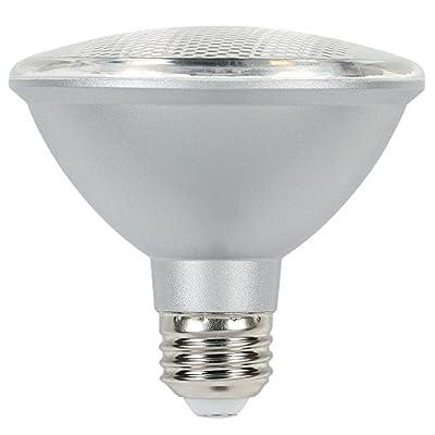 Westinghouse Lighting 5004000 75-Watt Equivalent PAR30S Neck Flood Dimmable Cool White Energy Star LED Light Bulb with Medium Base
