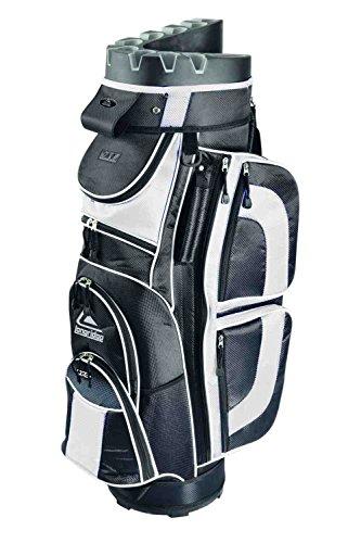 Longridge Sac de golf chariot EZE Kaddy Pro Noir/Blanc