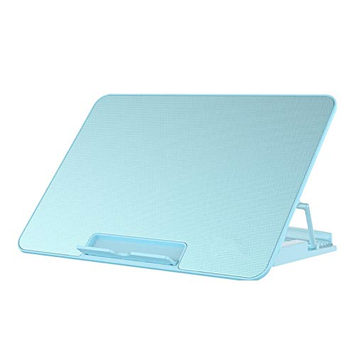 haozai Base De Refrigeración para Portátil,enfriamiento De Seis Ventiladores,Ajuste De Seis Alturas,Velocidad del Viento Ajustable,Interfaz USB Dual,Enfriador De Notebook