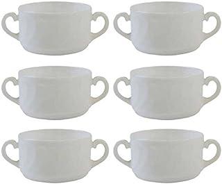6tazas de sopa Trianon de 30cl, apilables