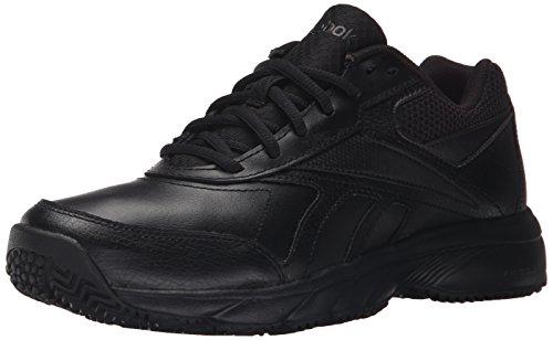 Reebok Women's Work N Cushion 2.0 Walking Shoe, Black/Black, 6 M US