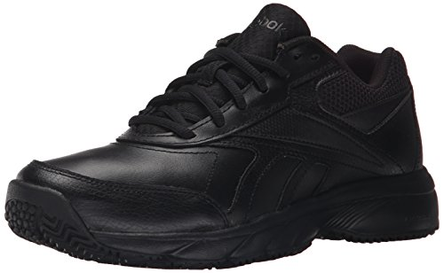 Reebok Women's Work N Cushion 2.0 Walking Shoe, Black/Black, 6 M US