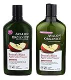 Avalon Organics Apple Cider Vinegar Shampoo & Conditioner Duo 325ml