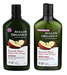 1 x Smooth Shine Apple Cider Vinegar Shampoo 325ml. 1 x Smooth Shine Apple Cider Vinegar Conditioner 325ml For hair that is overworked or weighed down by product buildup, a medley of raw APPLE CIDER VINEGAR, NETTLE EXTRACT and ARGAN and BABUSSA OILS ...