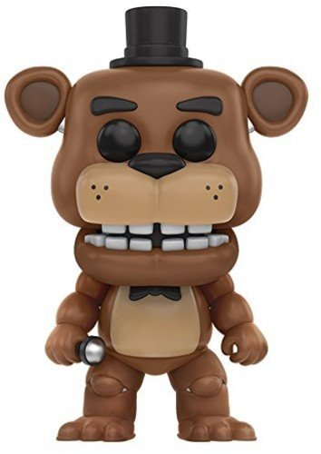 Funko Five Nights At FreddyS Freddies Freddy Figura de Vinilo, coleccion de Pop, seria FNAF, Color Golden Brown (11029)