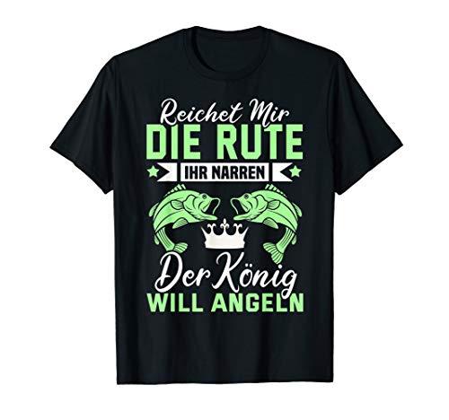 Angeln Fischen Fischer Spruch Lustig - Reichet mir die Rute T-Shirt