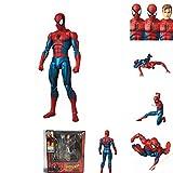 LEIYU The Avengers 4 Spider-Man Joint può fare un modello di posa hands-on