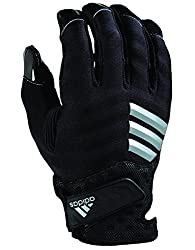 in budget affordable Adidas Nastyquick Football Glove Black / Black Plus Size