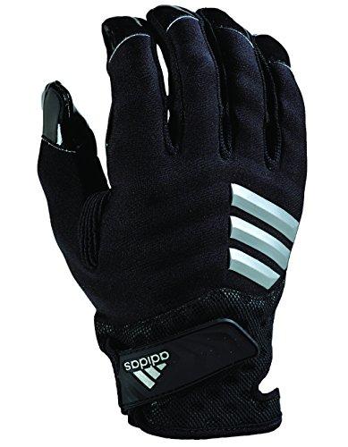 adidas Nastyquick - Guantes de fútbol (talla XL), color negro y negro