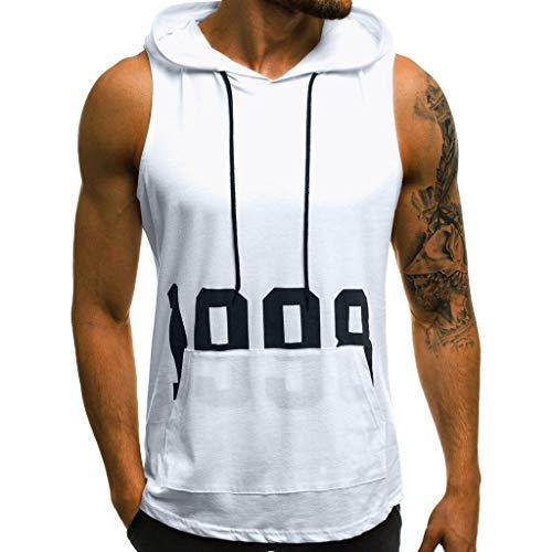 Hommes Tee Shirt Slim Fit Sweat à Capuche Manche Longue Mode Manteau Solide T-Shirt Tops Homme Rayures Col Rond Tank Tops Vintage Chic Chemisier Hiver Casual Manteau Haut