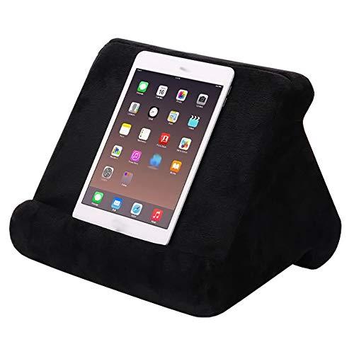 Soporte de cojín para Tablet, Mini Soporte para Ordenador, Soporte Cojín para Tableta con Forma de Almohada Varios ángulos Cojín Soporte para Tablets,Smartphones (29*21*21CM)