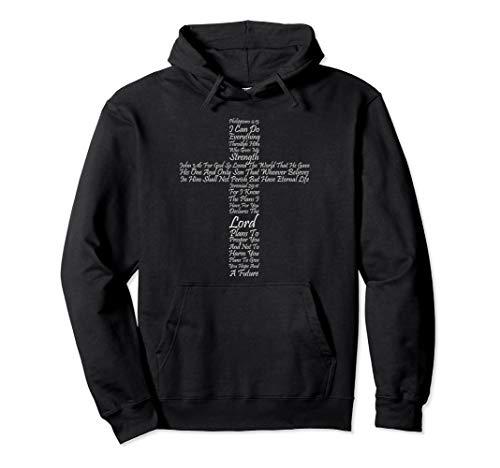 Christian Religious Faith Hoodie Cross Of Inspiration