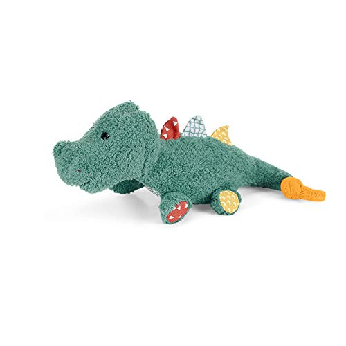 Sterntaler Mini-Spieltier Krokodil Konrad, Integrierte Rassel, Alter: Für Babys ab der Geburt, 20 cm, Grün