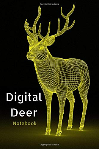 Digital Deer Notebook: lined notebook, journal present, 120 pages, 6*9, soft cover, matte finish gift for boy girl