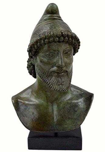 Odysseus - King of Ithaca Bronze Bust - Oddysey Greek Trojan War Mythical Heroe