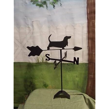 Amazon Com Swen Products Basset Hound Dog Weathervane Windcup Weathervanes Garden Outdoor